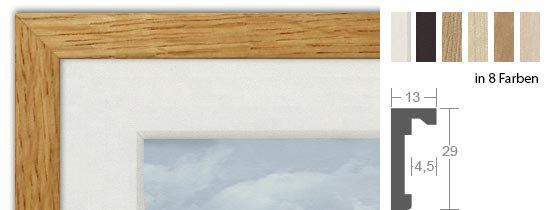 HALBE Magnetrahmen Holz 10