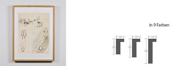 Werkladen-Rahmen Massivholz Eiche 13