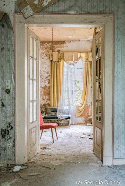 """""""Ultimo soggiorno""""- Acrylkaschierung"""