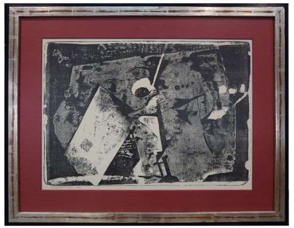 Joseph Fassbender, Abstrakt