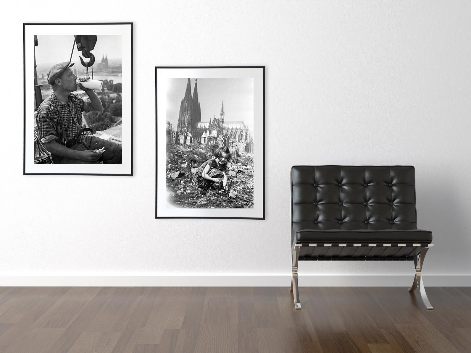 Wand-mit-2-Fotos-von-Walter-Dick