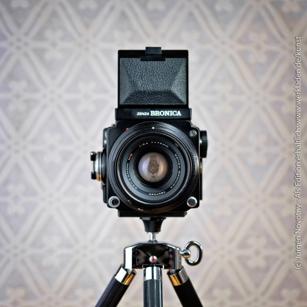 Cameraselfie Zenza Bronica ETR