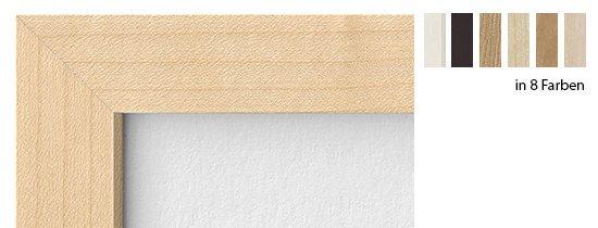HALBE Magnetrahmen Holz 22 mit Abstand