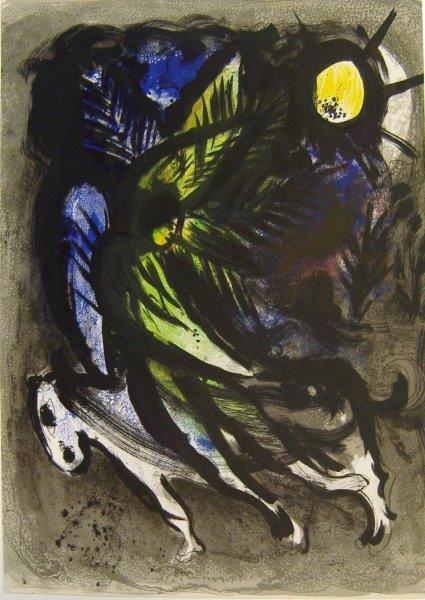 Marc Chagall, Jesaia, aus Bibel II
