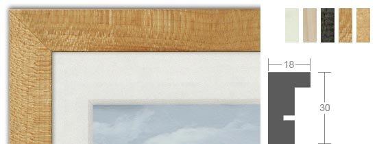 Bilderrahmenwerk WL Profil 106 Holz-Bilderrahmen
