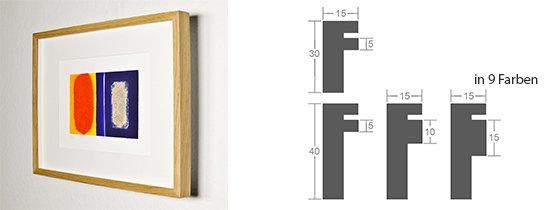 Werkladen-Rahmen Distanz Massivholz Eiche 15