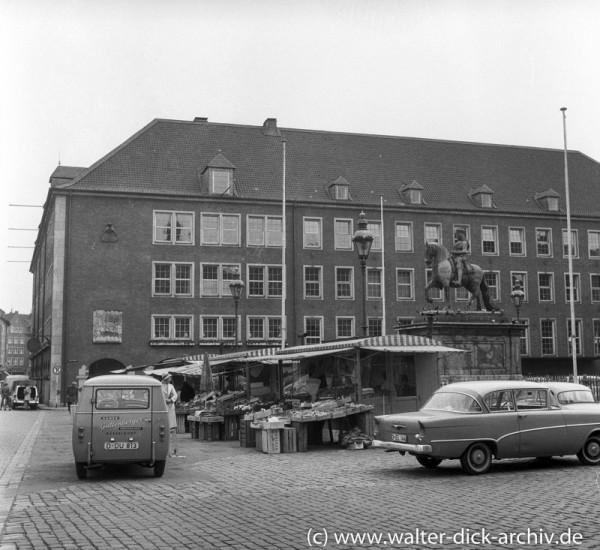 Rathauserweiterung der 50er Jahre 1957
