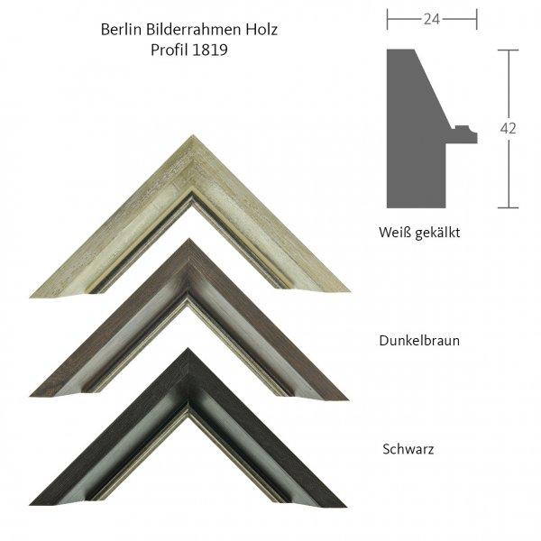 Musterstücke Berlin Holzrahmen - Klassische Profile