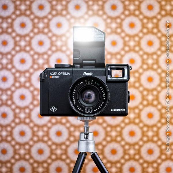 Cameraselfie Agfa Optima Sensor flash