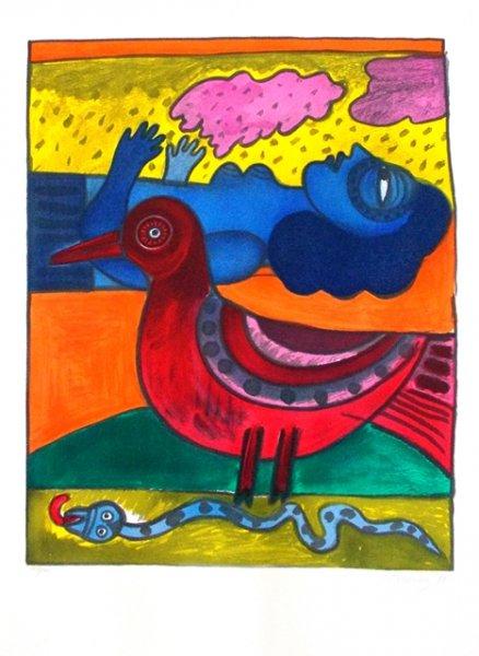 Serpent et Oiseau