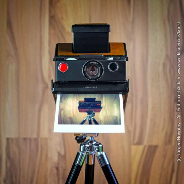 Cameraselfie Polaroid SX-70