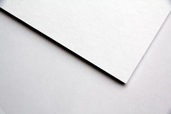 Rückwandkarton weiß 2 mm säurefrei