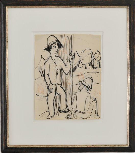 Ernst Ludwig Kirchner, Hirten