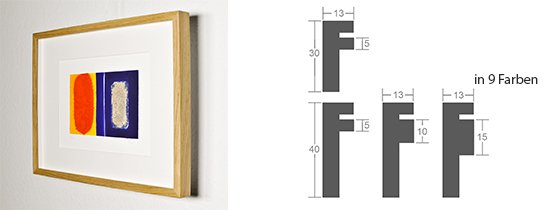 Werkladen-Rahmen Distanz Massivholz Eiche 13