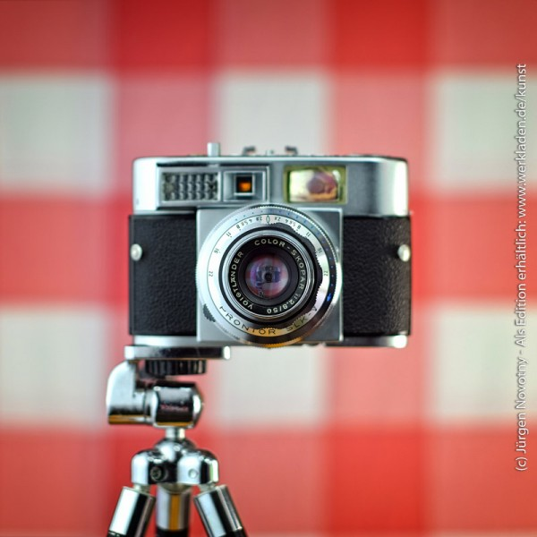 Cameraselfie Voigtländer Vitomatic II