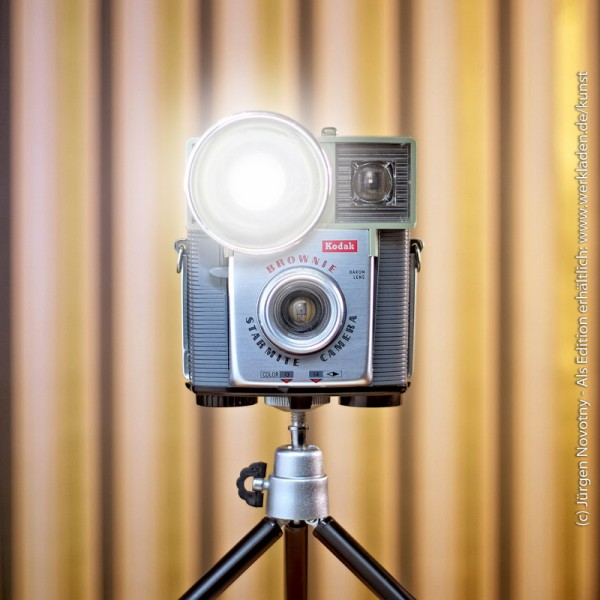 Cameraselfie Kodak Brownie Starmite