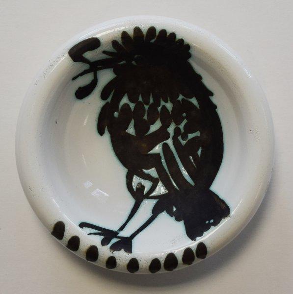 """Pablo Picasso, Schale """"Vogel mit Wurm im Schnabel"""""""