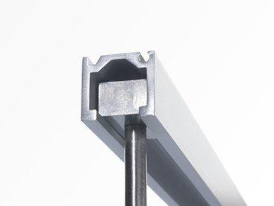 Galerieschiene C-Profil 250 cm