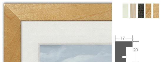 Werkladen Profil 103 Holz-Bilderrahmen handgefertigt