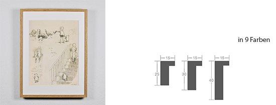 Werkladen-Rahmen Massivholz Eiche 15