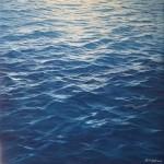 Shades of Blue IV - 100x100cm