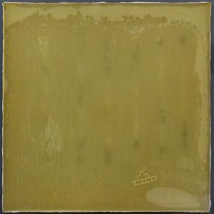 Joseph Beuys // Kreuzschlitten // Phosphor zwischen PVC-Platten // 44 x 44 x 0,6 cm // 1972 // hier kaufen